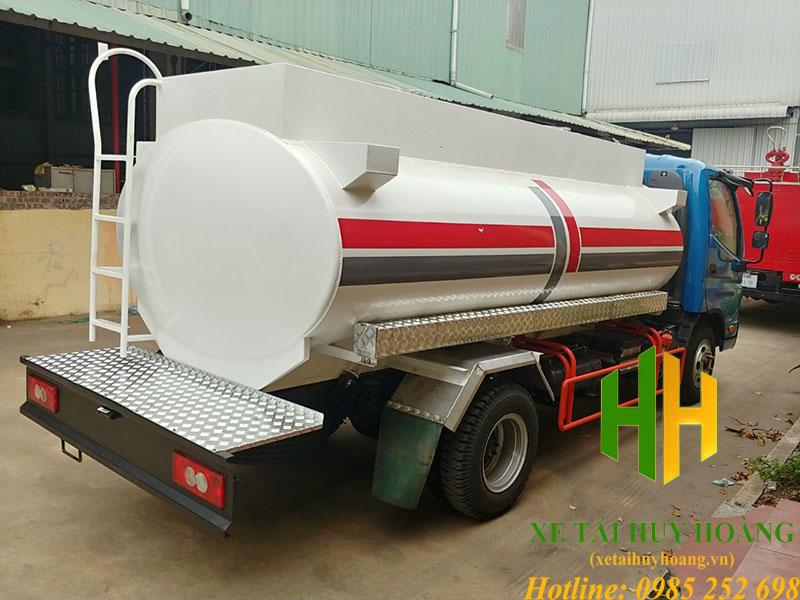 Xe bồn chở xăng dầu 7 khối Ollin 500