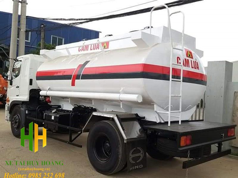 Xe bồn chở xăng dầu Hino FG8JJ7A