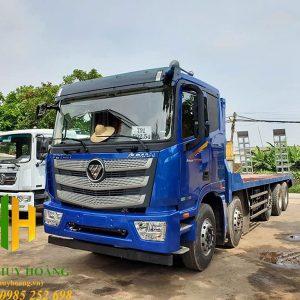 Xe nâng đầu chở máy công trình 5 chân Thaco Auman EST C340