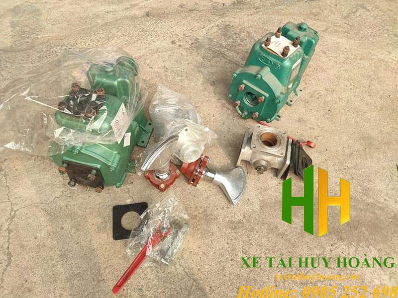 Bơm nước xe phun nước rửa đường 40m3/h