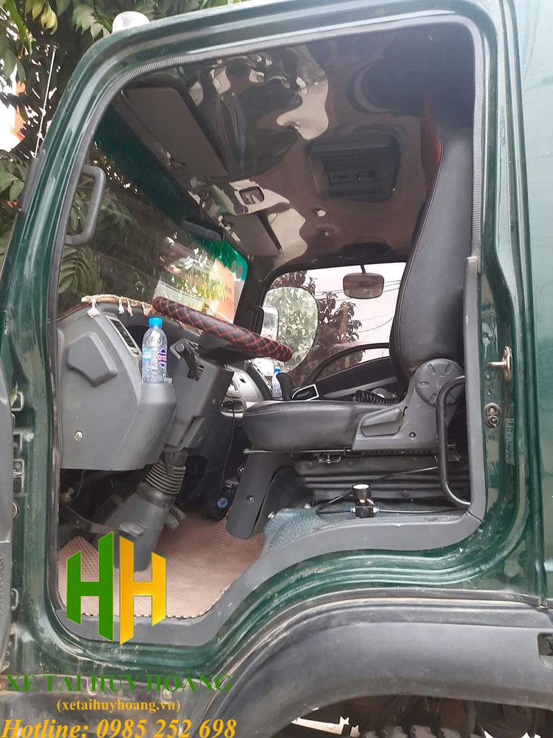 Lắp đế ghế hơi hoàn thiện cho xe ben Hoa Mai