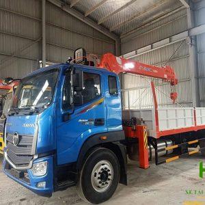 Thaco Auman C160 gắn cẩu Kanglim 5 tấn