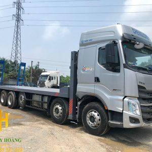 Xe nâng đầu chở máy công trình Chenglong 5 chân