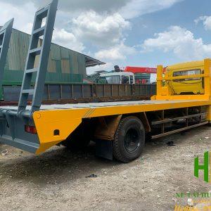 Xe nâng đầu chở máy công trình Dongfeng 8 tấn