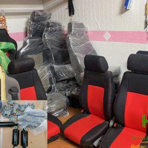 sửa ghế hơi xe tải