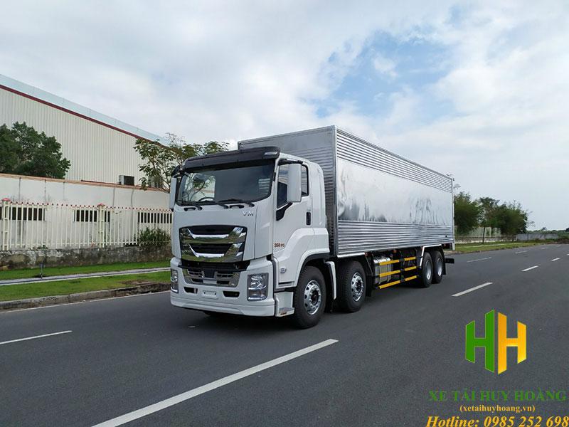 Xe tải Isuzu 4 chân 2020